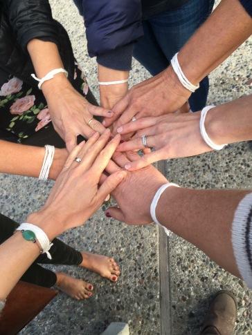 Unity and solidarity through my healing process.